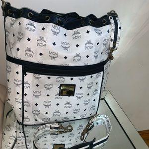 Authentic vintage MCM travel bag
